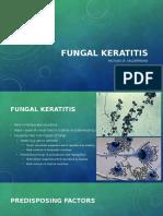 Ophtha Kanski Report Fungal Keratitis