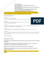 Questões de DIR CIVIL de concursos reunidas PARTE ESPECIAL (obrigações)
