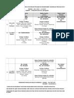 Jadual Penghantaran Pergi Dan Balik Pelajar Ke Kejohanan Olahraga Mssd Jb 2017