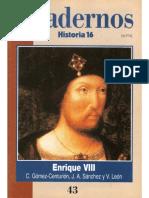 Cuadernos Historia 16, Nº 043 - Enrique VIII