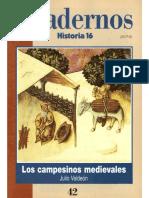 Cuadernos Historia 16, Nº 042 - Los Campesinos Medievales