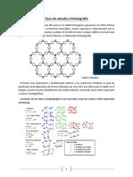 Guia de Estudio Cristalografía