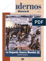 Cuadernos Historia 16, Nº 039 - La Segunda Guerra Mundial (II)