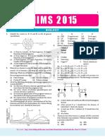 Aiims-2015 Pcbg (Final)