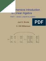 Joel G. Broida, Stanley Gill Williamson Comprehensive Introduction to Linear Algebra, Part I.pdf