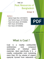 Coal & Peat Resource of Bangladesh.