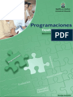 Programaciones Español Matemáticas 7-9 Honduras