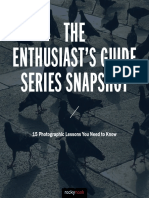 The Enthusiast's  Guide Series Snapshot