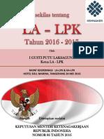 Introduction LA LPK
