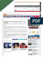La Policía Local La Organizan Los Jefes, No Los Alcaldes - La Opinión de Murcia
