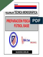Planificación en El Fútbol Base