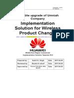 Implementation solution for change_ Software Upgrade_(GSM) Ver3.docx