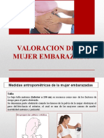 Valoracion de la Embarazada