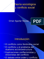 Teoria Sociologica y Conflicto Social