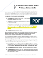 Business_Letter_Handout -- Major Rev