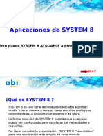 1. Presentacion System 8 Applications Spanish
