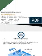 Presentación VPN Andrés Felipe Gonzalez - Train the Trainer Bogota-Colombia