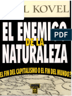 El Enemigo de La Naturaleza Kovel