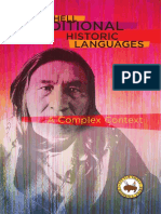 Little Shell Traditional Historic Languages