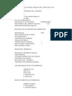 Diseño de Mezcla Por El Método Del Cómite 211 de La ACI