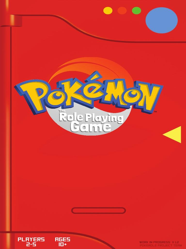 Pokerole Core Book Pokémon Fictional Life Forms