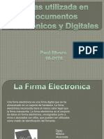 Firmas Electronicas Unidad 3 ppt