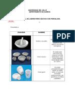 Material de Porcelana