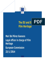 The Eu and European Film Heritage