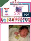 Presentación Sofía 1 añito