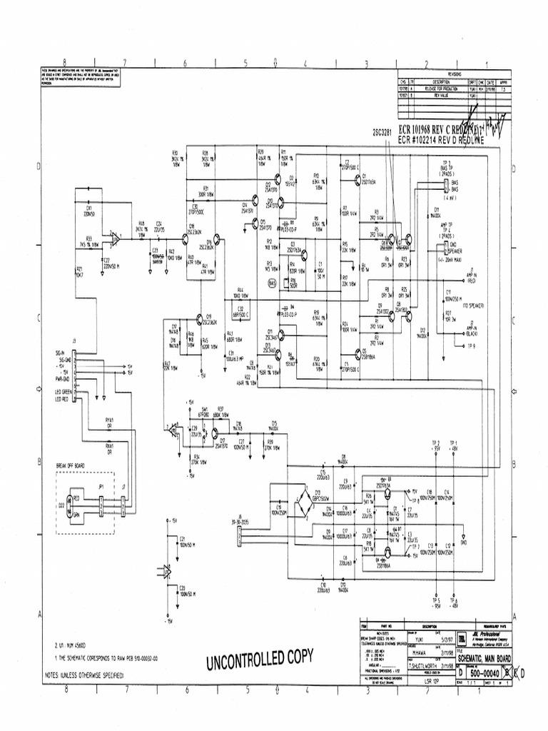 LSR12P Schematics on