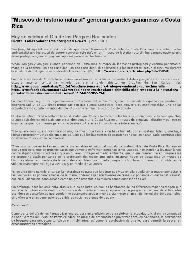 Noticia de Costa Rica