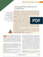 SLND for Lower Limb Melanoma - Miranda