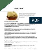 Manteca Karite