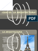Que Es La Arquitectura (1)