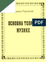 Osnovna Teorija Muzike MTajcevic.pdf