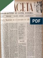 Charles Baudelaire en El Centenario de Las Flores Del Mal