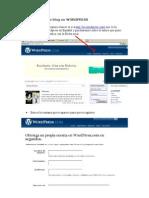 Crear un blog en wordpress