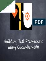 Cucumber JVM Test Framework