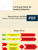 Concept of System Safety for Petrochemical Industries