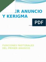 Funciones Pastorales Del Primer Anunciopptx