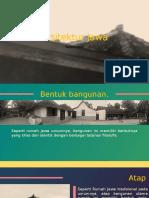 Arsitektur Joglo Jawa