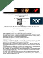 Antihumanismo Teórico, Economicismo y Antihistoricismo en Louis Althusser