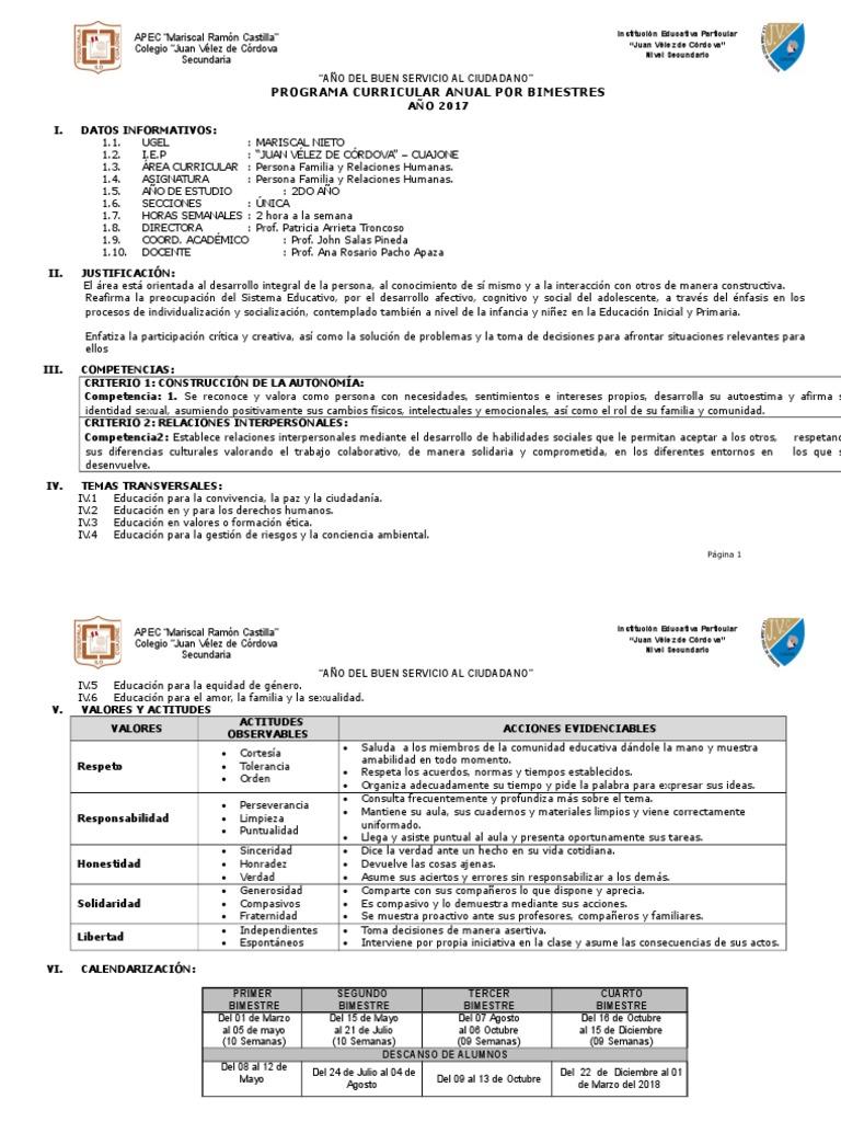 PROGRAMA CURRICULAR ANUAL POR BIMESTRES DE PFR 2DOAÑO.docx