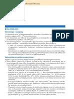 Salmonelosis (Fiebre Tifoidea o Gastroenteritis) (Harrison Manual 18 Ed, 2013)