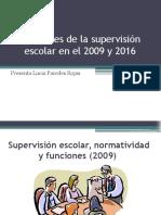 Supervisión Escolar, Normatividad y Funciones