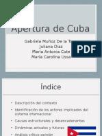 Apertura de Cuba.pptx