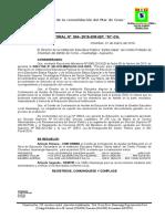 R.D. Conformación Del Comitie