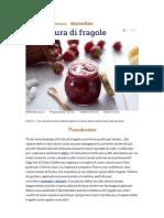 Ricetta Confettura Di Fragole - La Ricetta Di GialloZafferano