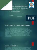 Minerales de Las Rocas Igneas