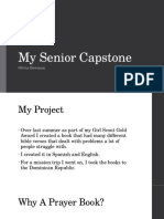 my senior capstone
